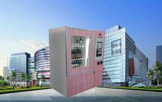 Chine CE FCC Winnsen Wine Vending Machine For Shopping Mall With Credit Card Reader Payment usine