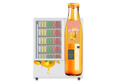 Chine Distributeur automatique frais de jus de mini de marché d'ODM d'OEM à distributeur automatique de sandwich de salade d'Apple fruit orange de canneberge avec l'ascenseur usine