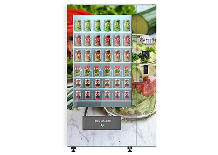 distributeur automatique intelligent de salade de yaourt de g teau avec le syst me en bois d. Black Bedroom Furniture Sets. Home Design Ideas