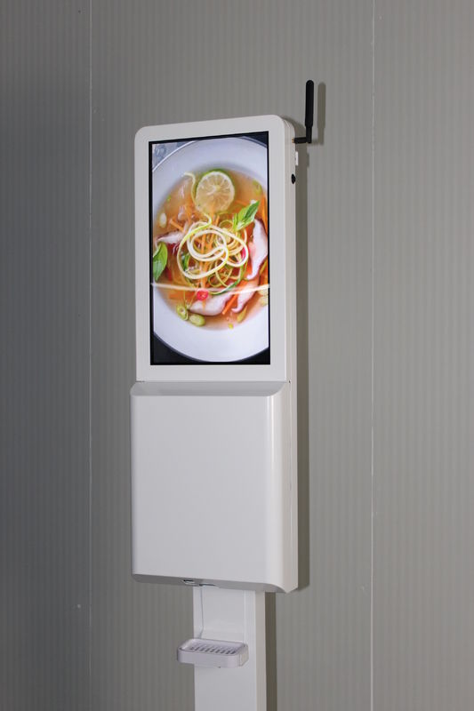 Automatic Soap Dispenser with digital signage lcd advertising display